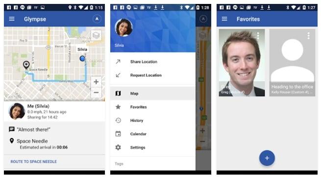 Glympse GPS Tracker