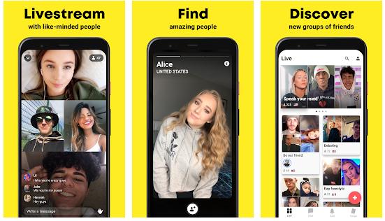 Yubo Online Dating App