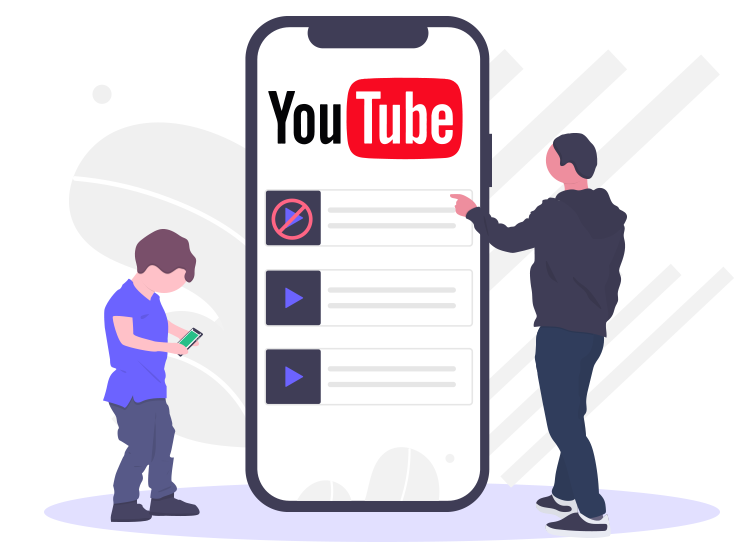 How to manage youtube parental controls