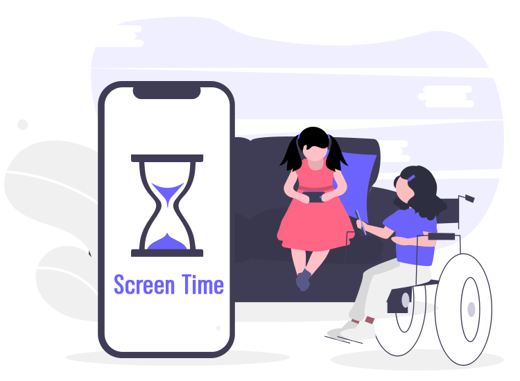 How screen-time affects specially-abled kids